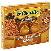 Don Miguel El Charrito Cheese Enchilada Dinner