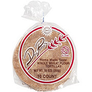 Don Pedro's Whole Wheat Flour Tortillas