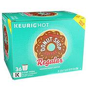 Donut Shop Coffee Regular Medium Roast Variety Pack Single Serve Coffee K Cups