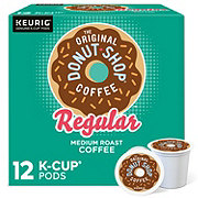 Donut Shop Regular Medium Roast Single Serve Coffee K Cups