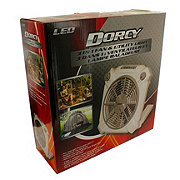 Dorcy 3 in 1 Fan & Utility Light