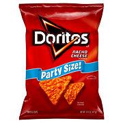 Doritos Nacho Cheese Tortilla Chips Party Size