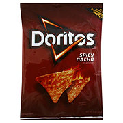 Doritos Spicy Nacho Flavored Tortilla Chips