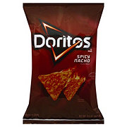Doritos Spicy Nacho Flavored Tortilla Chips