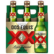 Dos Equis Lager Especial Beer 6 PK Bottles