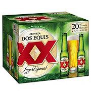 Dos Equis Lager Especial Beer 7 oz Bottles