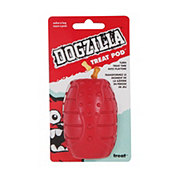 Doskocil Dogzilla Treat Pod Small Dog Toy
