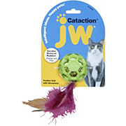 Doskocil JW Cataction Feather Ball With Bell