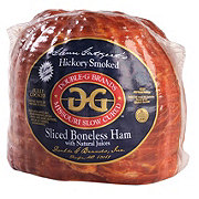 Double G Hickory Smoked Sliced Quarter Ham