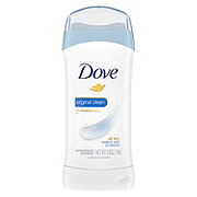 Dove Antiperspirant Deodorant Original Clean