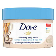 Dove Body Polish Crushed Macadamia & Rice Milk