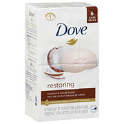 Dove Coconut Milk Beauty Bar 6 pk