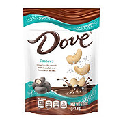 Dove DOVE Cashews With Sea Salt and Milk Chocolate Candy Bag