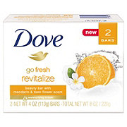 Dove go fresh Beauty Bar Mandarin and Tiare Flower