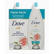 Dove go fresh Blue Fig and Orange Blossom Body Wash  Twin Pack