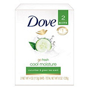 Dove go fresh Cucumber and Green Tea Beauty Bar 2 pk