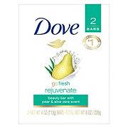 Dove go fresh Pear and Aloe Vera Beauty Bar 2 pk