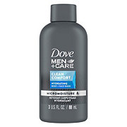 Dove Men+Care Clean Comfort Body and Face Wash Trial Size