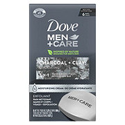 Dove Men+Care Elements Charcoal + Clay Body + Face Bar