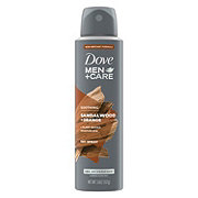 Dove Men+Care Elements Mineral Powder + Sandalwood Dry Spray Antiperspirant Deodorant
