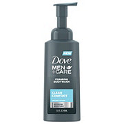 Dove Men+Care Foaming Body Wash Clean Comfort