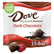 Dove PROMISES Dark Chocolate Candy Bag