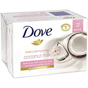Dove Purely Pampering Beauty Bar Coconut Milk