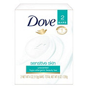 Dove Sensitive Skin Beauty Bar 2 pk