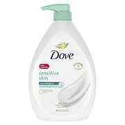 Dove Sensitive Skin Body Wash Pump