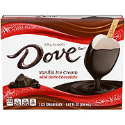 Dove Vanilla with Dark Chocolate Ice Cream Bar
