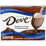 Dove Vanilla with Milk Chocolate Ice Cream Bars
