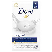 Dove White Beauty Bar 6 pk
