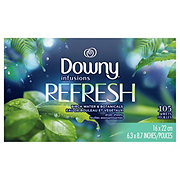 Downy Infusions Botanical Mist Fabric Softener Dryer Sheets
