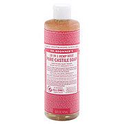 Dr. Bronner's 18-in-1 Hemp Rose Pure-Castile Soap