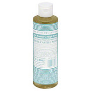 Dr. Bronner's Magic Soaps 18-in-1 Hemp Unscented Baby-Mild Pure-Castile Soap