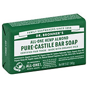 Dr. Bronner's Magic Soaps All-One Hemp Almond Pure-Castile Soap