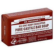 Dr. Bronner's Magic Soaps All-One Hemp Eucalyptus Pure-Castile Soap