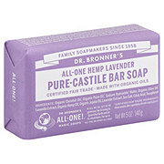 Dr. Bronner's Magic Soaps All-One Hemp Lavender Pure-Castile Soap