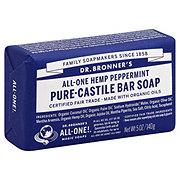 Dr. Bronner's Magic Soaps All-One Hemp Peppermint Pure-Castile Soap