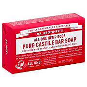 Dr. Bronner's Magic Soaps All-One Hemp Rose Pure-Castile Soap