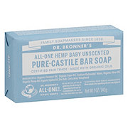 Dr. Bronner's Magic Soaps All-One Hemp Unscented Baby-Mild Pure-Castile Soap