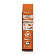 Dr. Bronner's Orange Ginger Organic Lip Balm