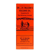Dr. J.H. McLean's Volcanic Oil Turpentine Oil Pain Relieving Liniment