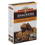 Dr. Kracker Pumpkin Seed Cheddar Cracker