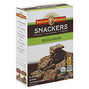 Dr. Kracker Seedlander Snackers Crackers