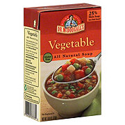 Dr McDougall's Right Foods All Natural Gluten Free Soup Vegetable