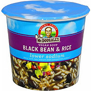 Dr McDougall's Right Foods DR. Mcdougalls Soup Black Bean & Rice Low Sodium