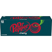 Dr Pepper Cherry Soda 12 oz Cans