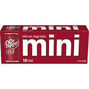 Dr Pepper Mini 7.5 oz Cans