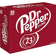 Dr Pepper Soda 12 oz Cans